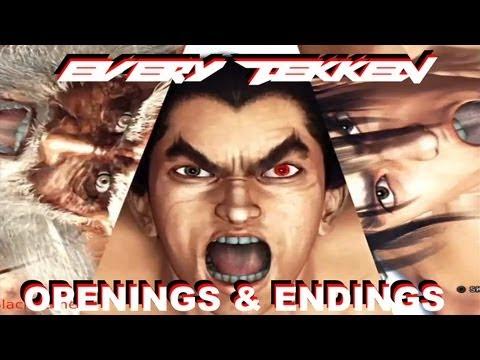 All/ Every Opening & Ending of Tekken 1-6 in HD