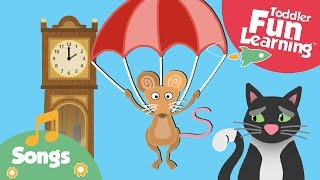 Hickory Dickory Dock | Nursery Rhyme For Toddlers