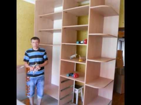Собираем корпусную мебель своими руками