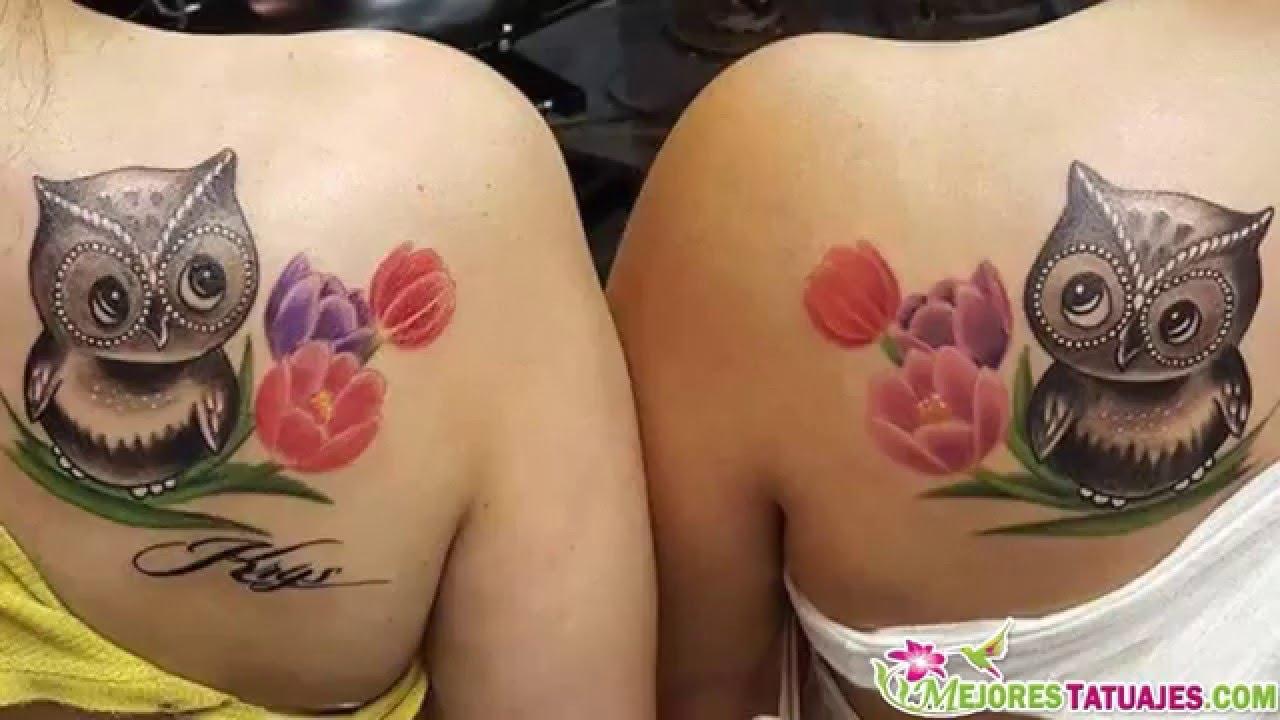 Hermosos Diseños De Tatuajes De Buhos Youtube