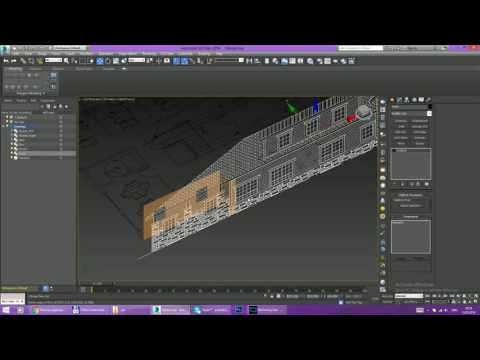 3D modeling Dental Clinic(Work In Progress) - 1
