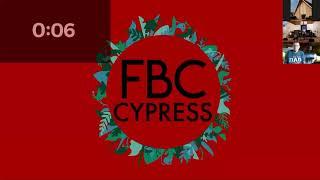 FBCC Worship Service 6.20.21