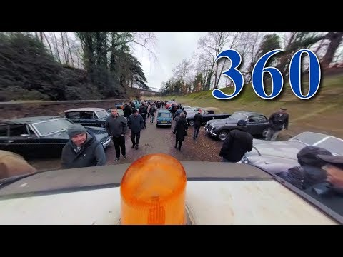 2018 Brooklands New Year's Day a drive around the site in 360 Video