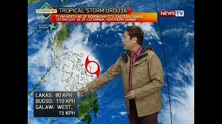 BT: Weather update as of 12:02 p.m. (Dec. 16, 2017)