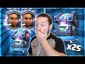 OPENING X25 LEGENDARY KINGS CHEST!! MAX RAM RIDER GEMMING PT 1 - Clash Royale Chest Opening