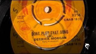 Derrick Morgan - Don