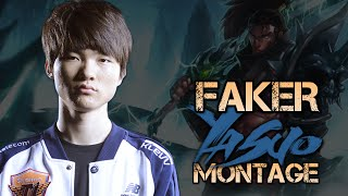 Faker Montage - Best YASUO Plays