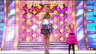 Юлия Началова и ее дочь Вера - Топ, топ, топает малыш (Субботний вечер, 2010)