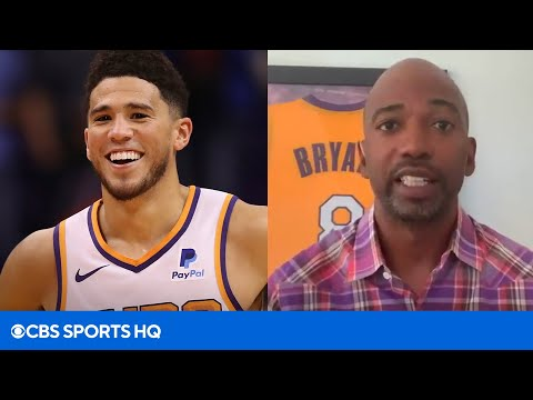 Rip Hamilton says Devin Booker is a Top 3 guard in the NBA  CBS Sports HQ