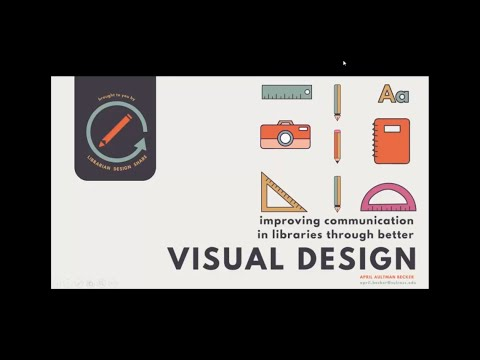 Improving Communication in Libraries Through Better Visual Design