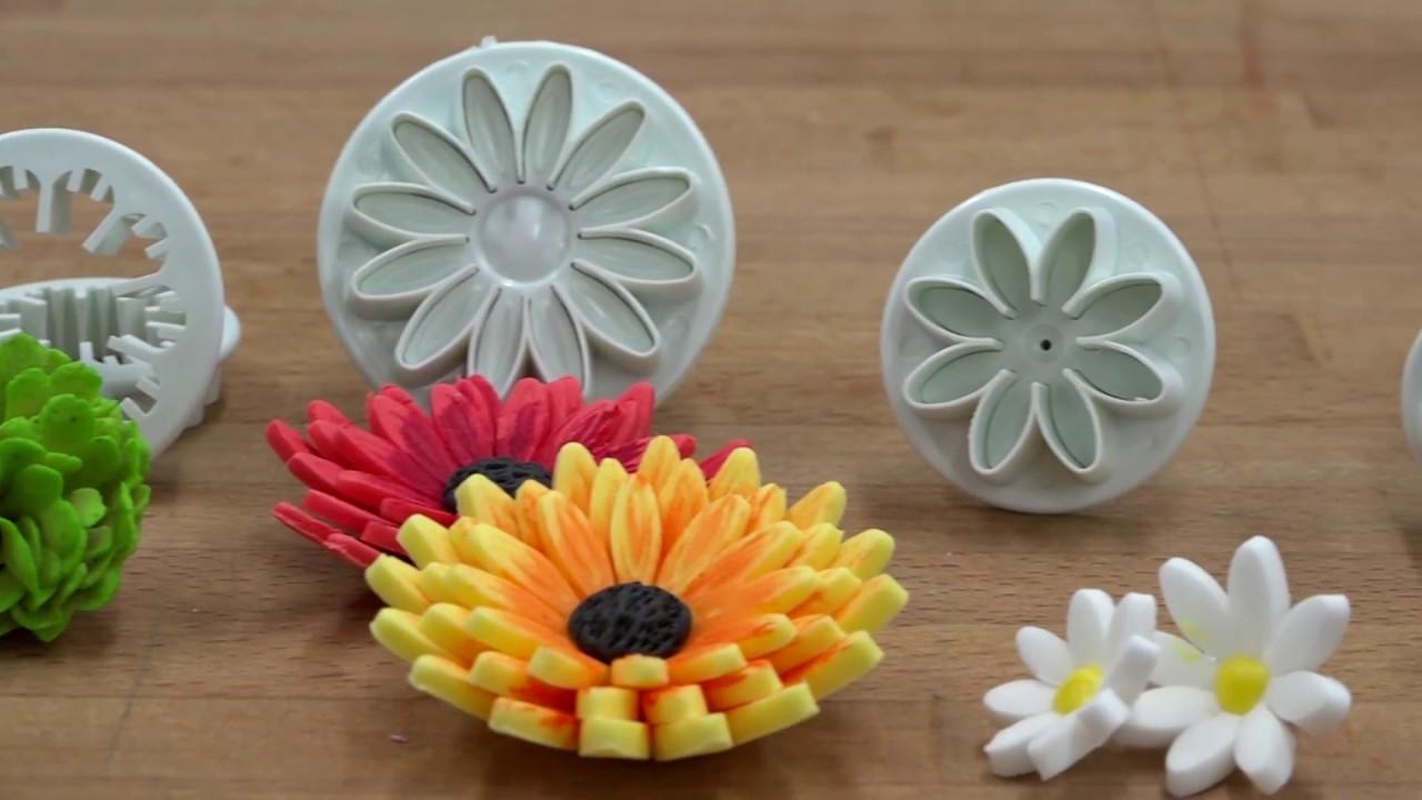 Top Comment faire des fleurs en pâte à sucre ? - YouTube PY94