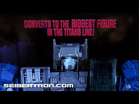 Hasbro's Transformers Promo Reel shown at Toy Fair 2016