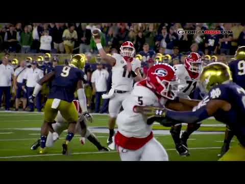 """""""Born For Greatness"""" UGA 2018 Hype Video"""