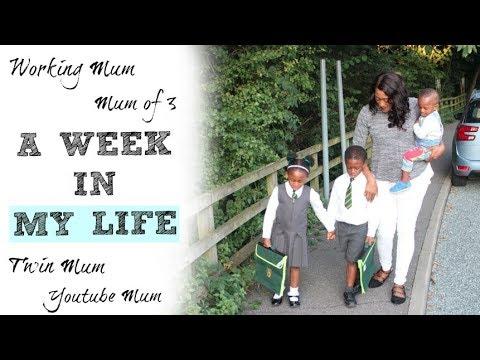 A WEEK IN THE LIFE OF THIS MUM OF 3 | WORKING MUM | TWIN MUM | YOUTUBE MUM