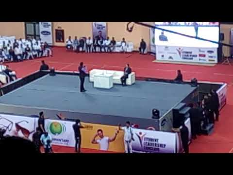 Motivational speech manoj tiwari in Indra Gandhi stadium ( Delhi)