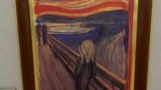 大塚国際美術館★ムンク「叫び」赤い雲の秘密?★かめたろうTV③