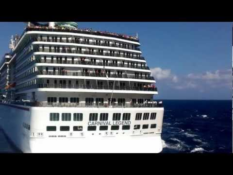 Carnival Legend's Close Call - 02/11/13