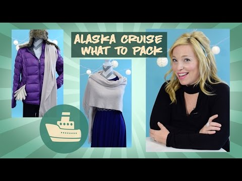 What to Pack For a Alaska Cruise - Clothes Edition