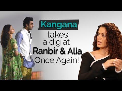 Sit with Hitlist: Kangana Ranaut takes a dig at Ranbir Kapoor and Alia Bhatt once again!