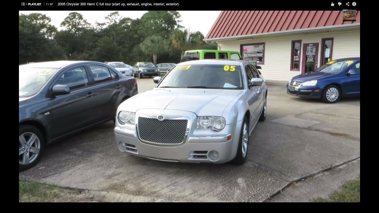 2005 Chrysler 300 Hemi C full tour (start up, exhaust, engine ...