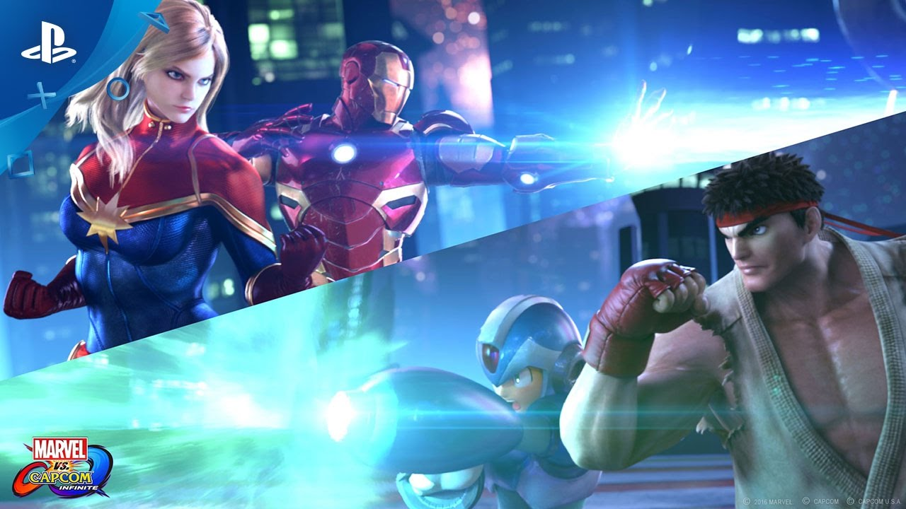 Marvel vs. Capcom: Infinite - PlayStation Experience 2016: Reveal Trailer