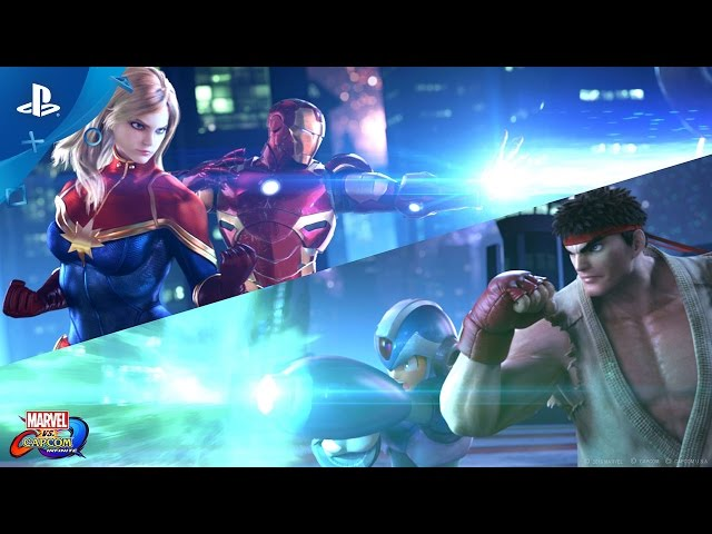 Marvel vs. Capcom: Infinite - PlayStation Experience 2016: Reveal Trailer | PS4