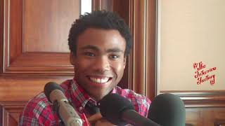 Donald Glover explains how he broke into TV and offers some career advice.