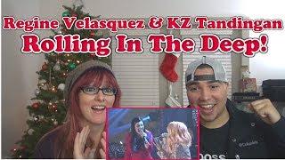 MOM & SON REACTION! [SUPERB] Regine Velasquez and KZ Tandingan - Rolling In The Deep