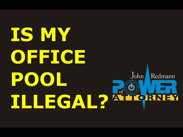 Is my office pool illegal?
