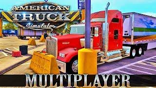 ???? ATS Multiplayer czyli jazda w Amerykanskim stylu #NAŻYWO - Na żywo