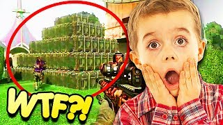 BUILDING A HOUSE OUT OF CARE PACKAGES! (Trolling)