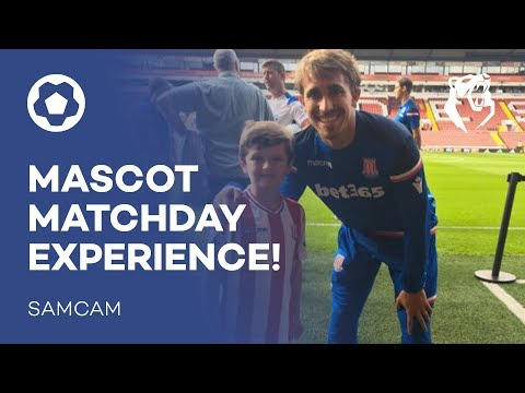 MASCOT MATCHDAY EXPERIENCE!   Samcam   The Bear Pit TV