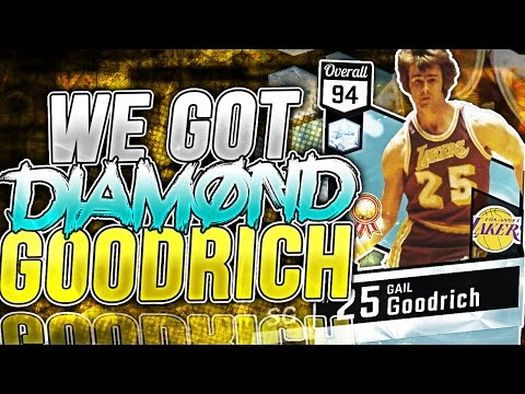 WE GOT DIAMOND GAIL GOODRICH AND FINISHED MYTEAM BLACKTOP!!! NBA 2K17 MyTeam