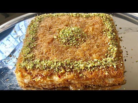 Kunafa recipe Arabic dessert kunafeh recipe