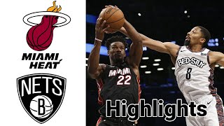 Heat vs Nets HIGHLIGHTS Full Game | NBA January 23