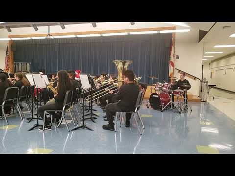 East Naples Middle School Band Concert December 2018