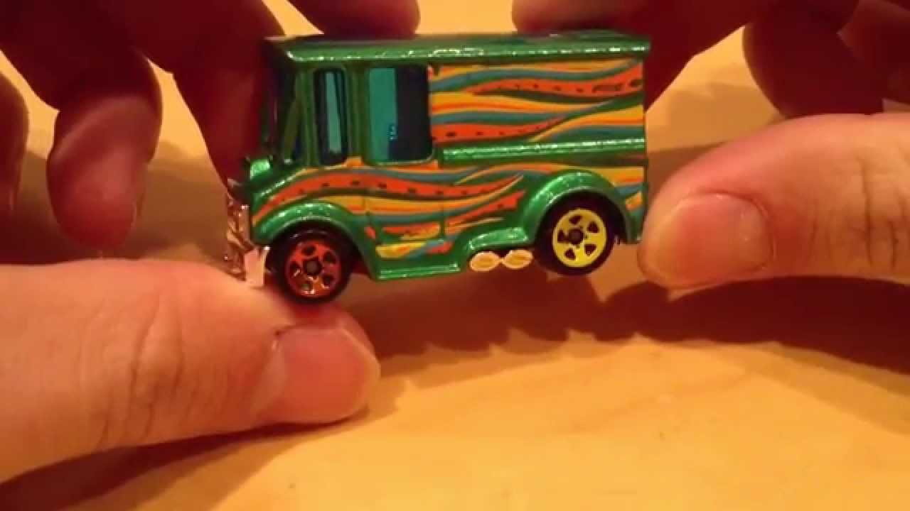 Hot Wheels Bread Box (HW Art Cars Version!)