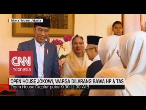 Open House Jokowi, Warga Dilarang Bawa HP & Tas