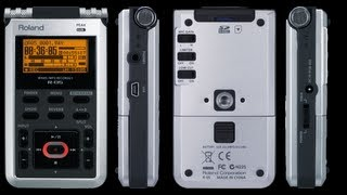 Roland R-05 Wave/MP3 Recorder Unboxing