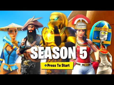 *NEW* SEASON 5 OFFICIAL BATTLE PASS THEME! (Fortnite: Battle Royale Season 5)