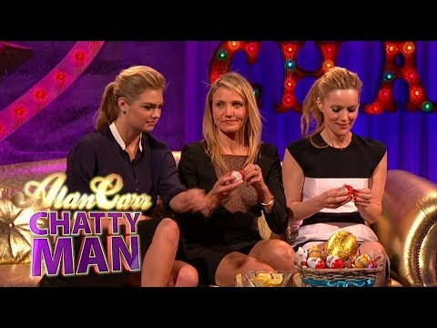 Cameron Diaz, Kate Upton & Leslie Mann | Full Interview | Alan Carr: Chatty Man