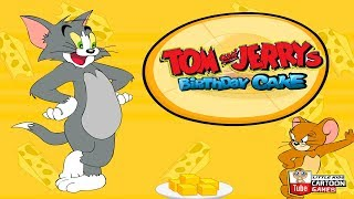 Fun Tom and Jerry - Birthday Cake Game . Tom and Jerry 2017 Games. Baby Games  #LITTLEKIDS