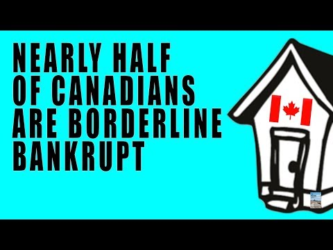 Real Estate Will CRASH as Almost Half of Canadians Admit They CANNOT Afford Basic Expenses!