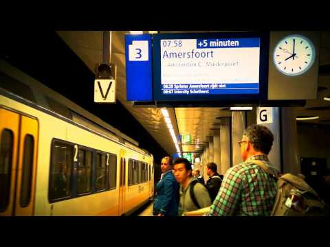 Welcome to Amsterdam - Schiphol Airport to Centraal Train Station