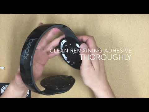 How to change ear pads - YAXI PRO BS Studio