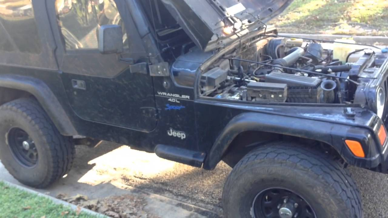 easy fix for hard to reach freeze plug jeep wrangler 4 0 youtube3400 v6 engine diagram [ 1280 x 720 Pixel ]
