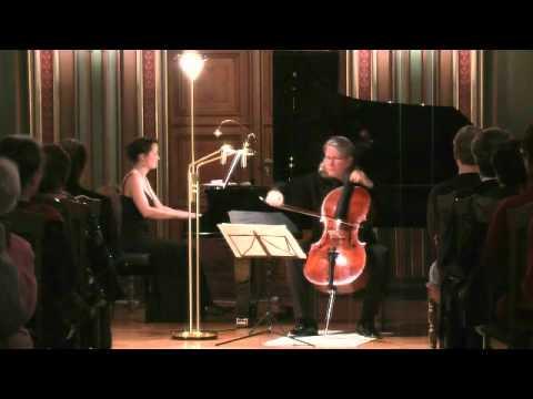 """Nadia Boulanger: """"Trois Piéces"""", Peter Bruns / Cello, Annegret Kuttner / Piano, Live"""