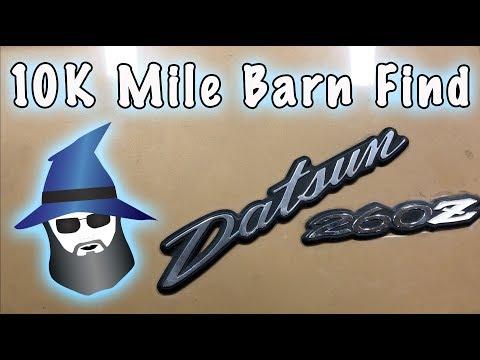 The CAR WIZARD reveals the Mystery Car: 10K mi Datsun 260z!