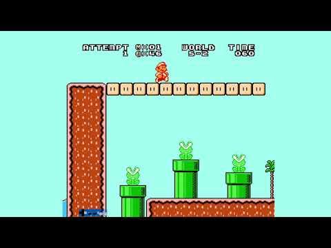 [TAS] NES Super Mario Unlimited Deluxe in 6:49.755 by SMBistic (smb1 hack) |