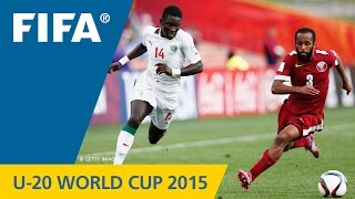 Senegal v. Qatar - Match Highlights FIFA U-20 World Cup New Zealand 2015